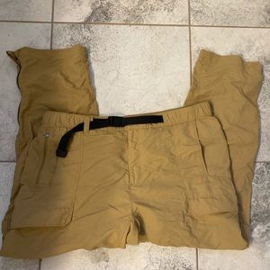 Northface Cargo Pants with Built in Shorts